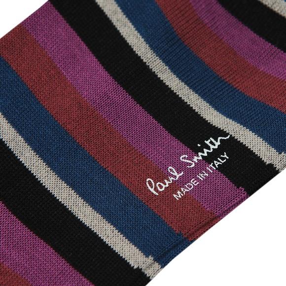 Paul Smith Mens Purple Hurbert Sock