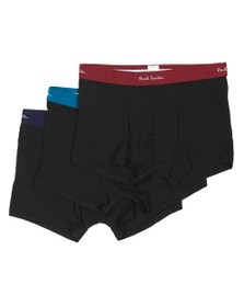 Paul Smith Mens Black 3 Pack Trunk