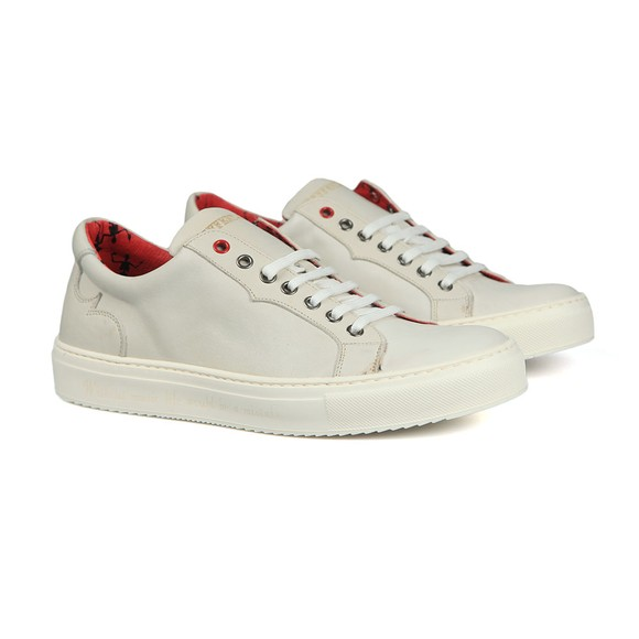 Jeffery West Mens White Apolo Trainer