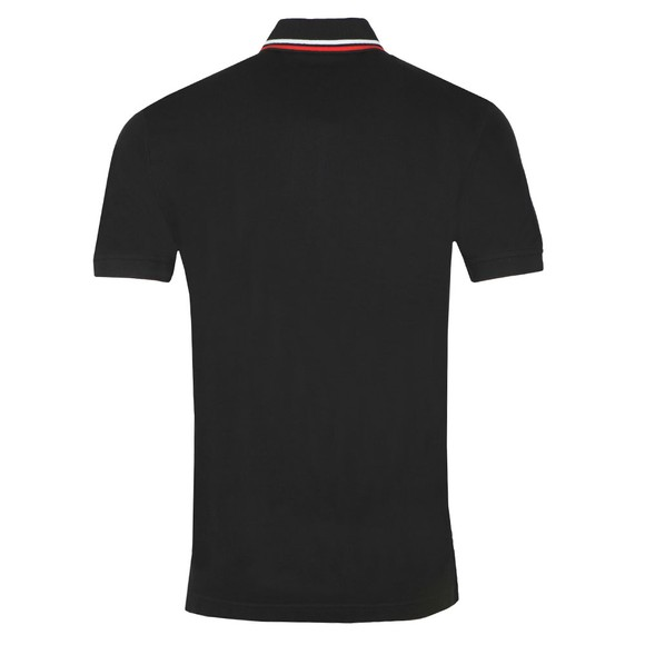 Tommy Hilfiger Mens Black Chest Stripe Polo main image