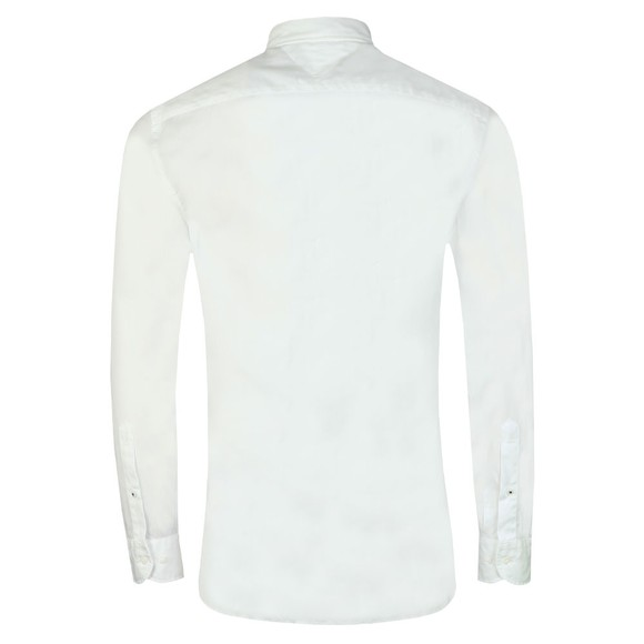Tommy Hilfiger Mens White Soft Poplin Shirt main image