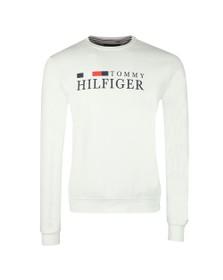 Tommy Hilfiger Mens Off-White Basic Sweatshirt