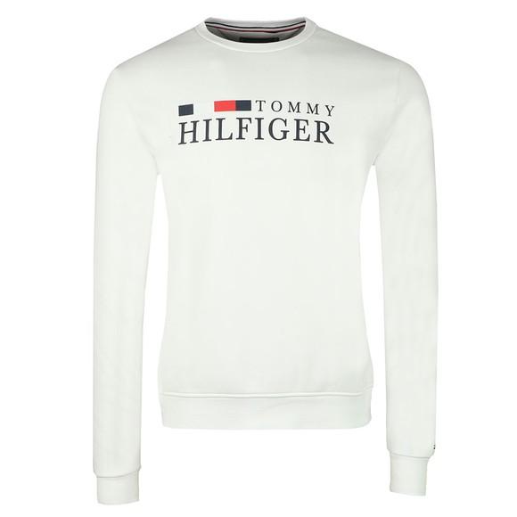 Tommy Hilfiger Mens Off-White Basic Sweatshirt main image