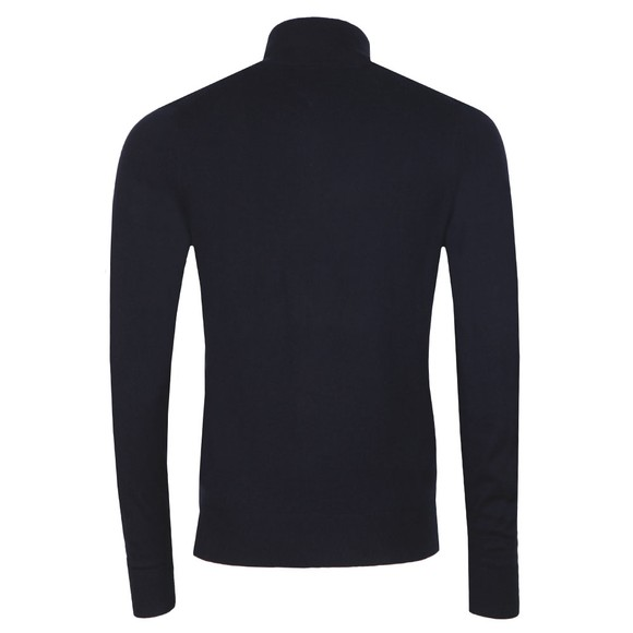 Tommy Hilfiger Mens Blue Luxury Touch Half Zip Jumper main image