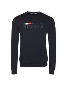 Tommy Hilfiger Mens Blue Basic Sweatshirt