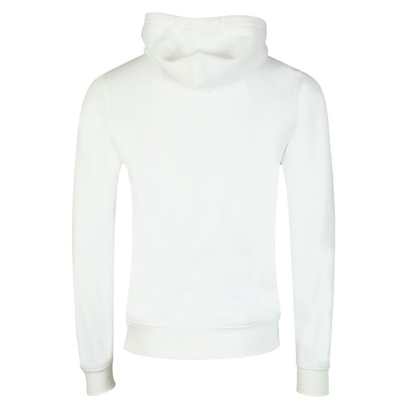 Tommy Hilfiger Mens White Multi Flag Hoody main image