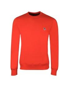 PS Paul Smith Mens Orange Zebra Sweatshirt