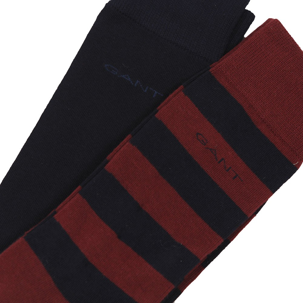 Barstripe and Solid Sock 2 Pack main image