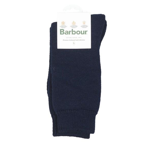 Barbour Lifestyle Mens Blue Calf Socks
