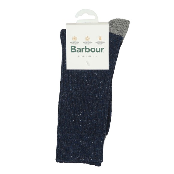 Barbour Lifestyle Mens Blue Houghton Sock