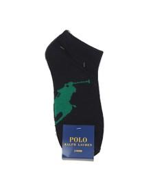 Polo Ralph Lauren Mens Grey 3 Pack Big Pony Sock