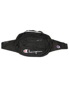 Champion Mens Black Zip Pockets Belt Bag
