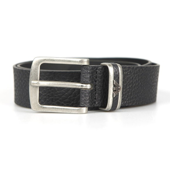 Emporio Armani Mens Black Y4S197 Belt