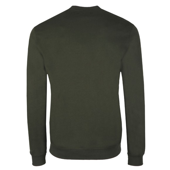 Fred Perry Sportswear Mens Green Embroidered Sweatshirt main image