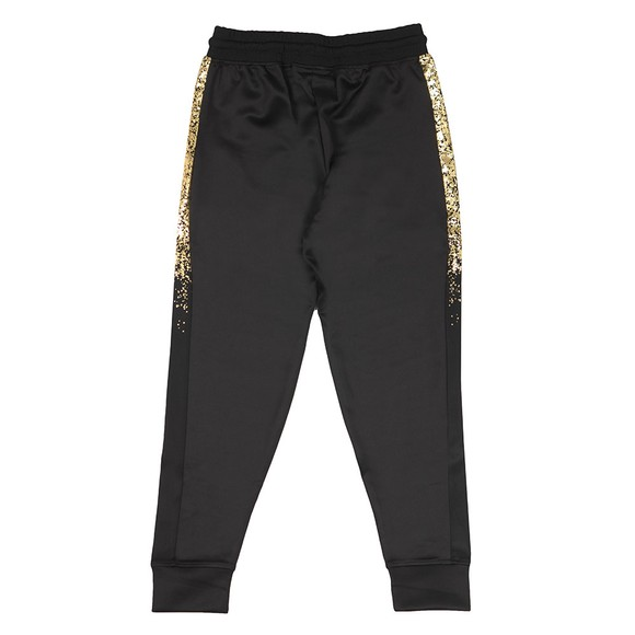Sik Silk Mens Black Cuffed Cropped Panel Pant main image