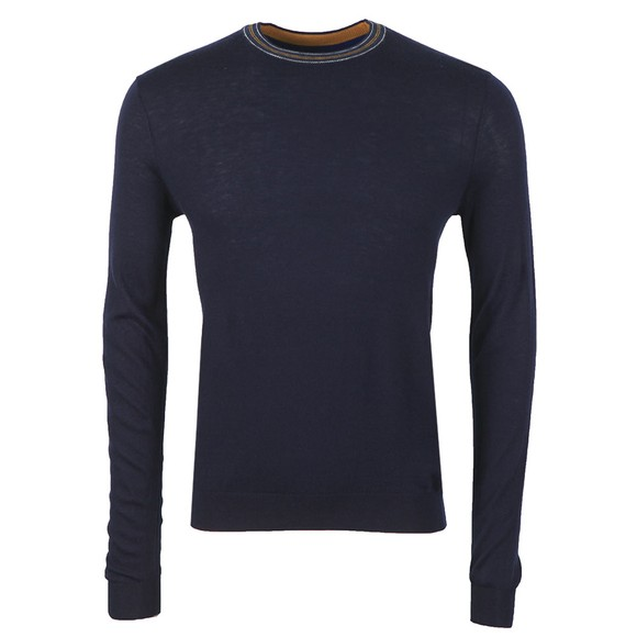 Ted Baker Mens Blue Mailais Crew Jumper main image