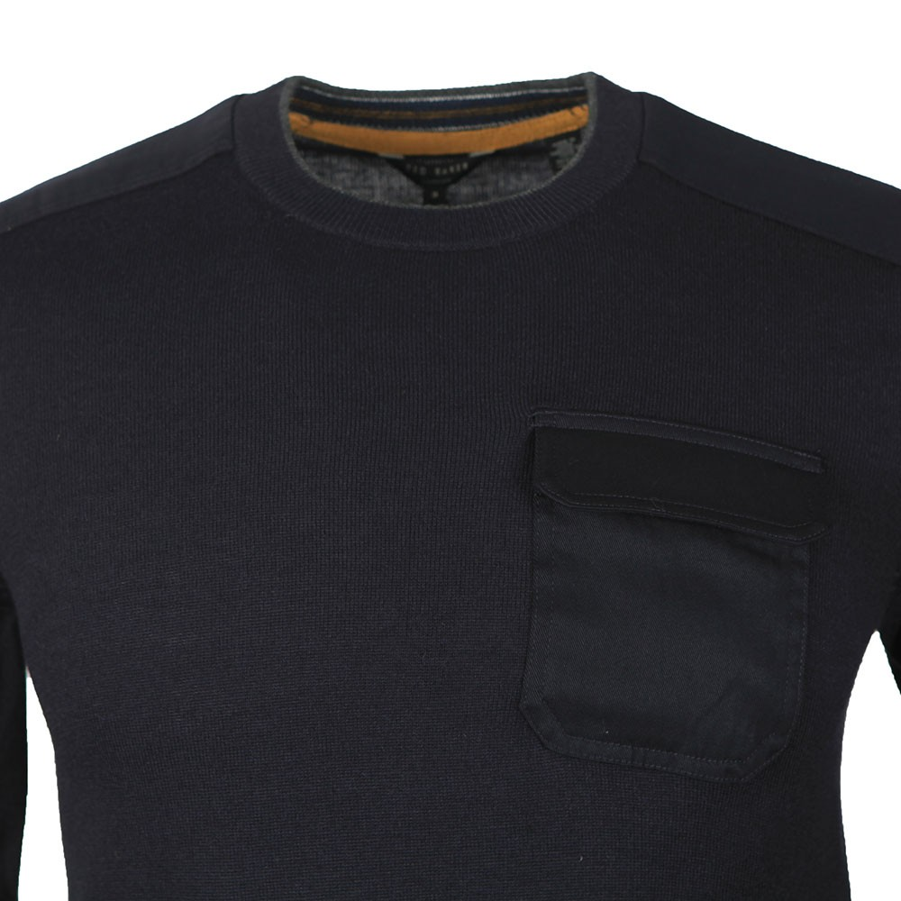 Saysay Crew Neck w/ Patch Pocket Jumper main image