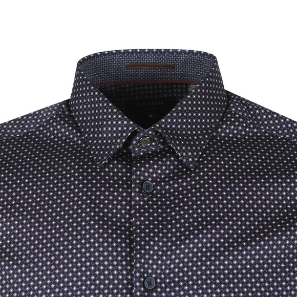 Ted Baker Mens Blue Merci Geo Print Shirt main image