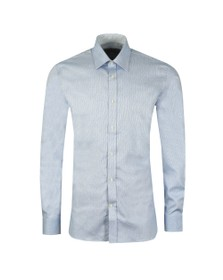 Ted Baker Mens Blue Catton Semi Plain Endurance Shirt
