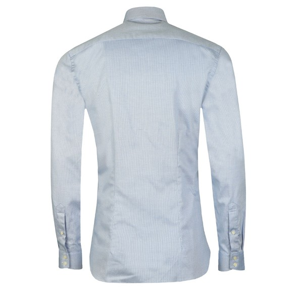 Ted Baker Mens Blue Catton Semi Plain Endurance Shirt main image