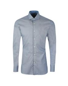 Ted Baker Mens Blue Romany Semi Plain Endurance Shirt