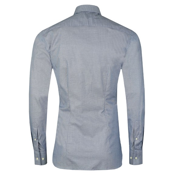 Ted Baker Mens Blue Romany Semi Plain Endurance Shirt main image