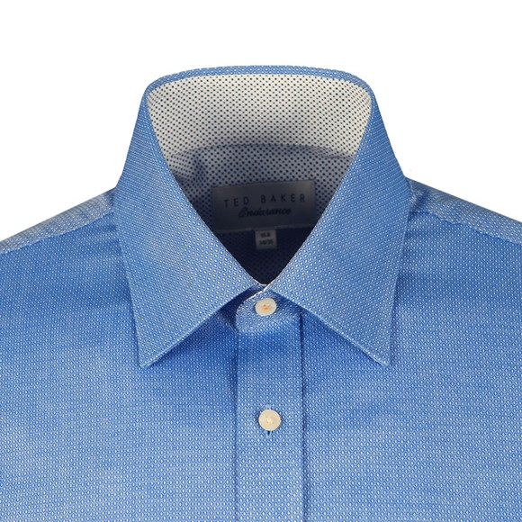 Ted Baker Mens Blue KNOWLAN Diamond Endurance Shirt