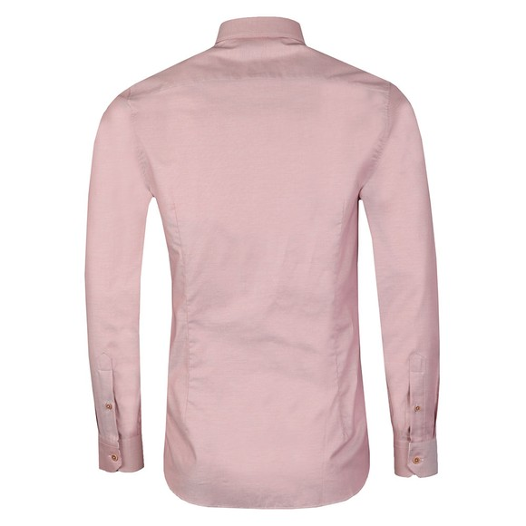 Ted Baker Mens Pink Branded Tape Shirt main image