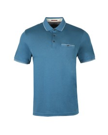 Ted Baker Mens Blue Boomie Polo