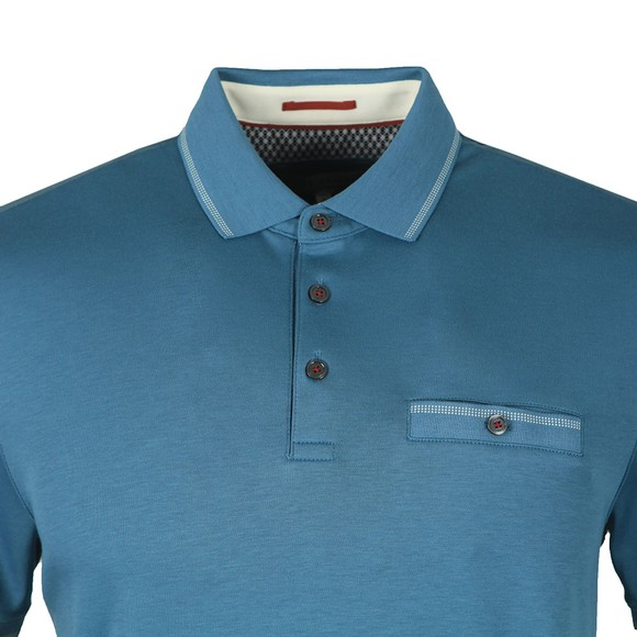 Ted Baker Mens Blue Boomie Polo main image