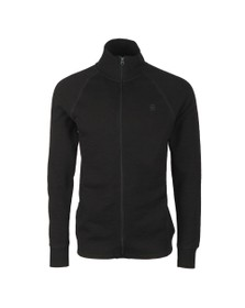 G-Star Mens Black Jirgi Full Zip Sweat