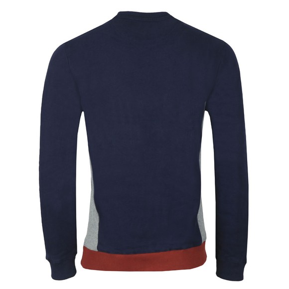 Lyle and Scott Mens Blue Multi Panel Sweatshirt main image