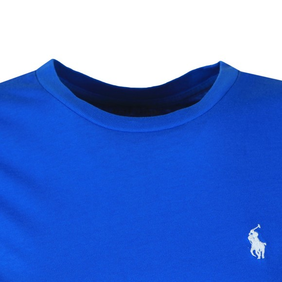 Polo Ralph Lauren Womens Blue Basic Crew T Shirt main image
