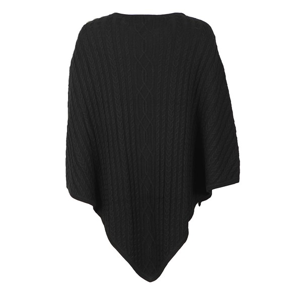 Holland Cooper Womens Black The Windsor Knit Wrap main image