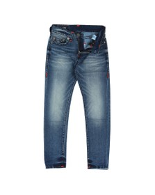 True Religion Mens Blue Jack No Flap Super T Jean