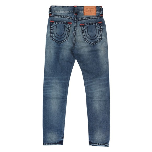 True Religion Mens Blue Jack No Flap Super T Jean main image