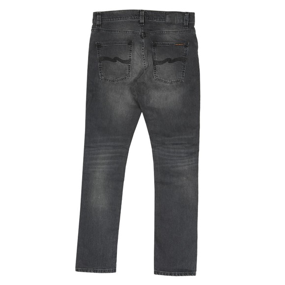 Nudie Jeans Mens Mono Grey Lean Dean Jean main image