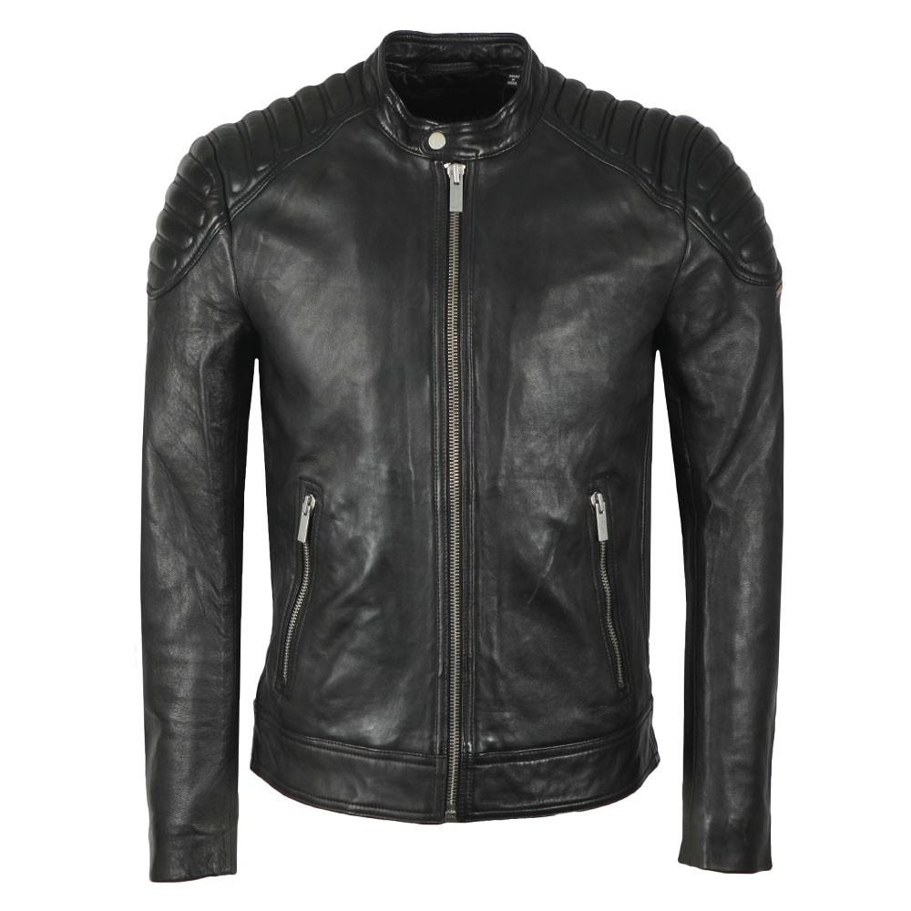 City Hero Leather Jacket main image