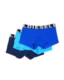 Diesel Mens Navy/Blue/Turquoise UMBX Shawn 3 Pack Boxer