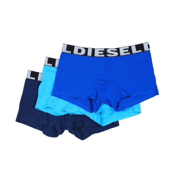 Diesel Mens Navy/Blue/Turquoise UMBX Shawn 3 Pack Boxer main image