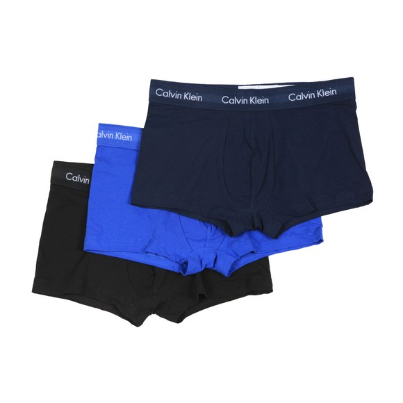 Calvin Klein Mens Multicoloured 3 Pack Low Rise Trunks main image