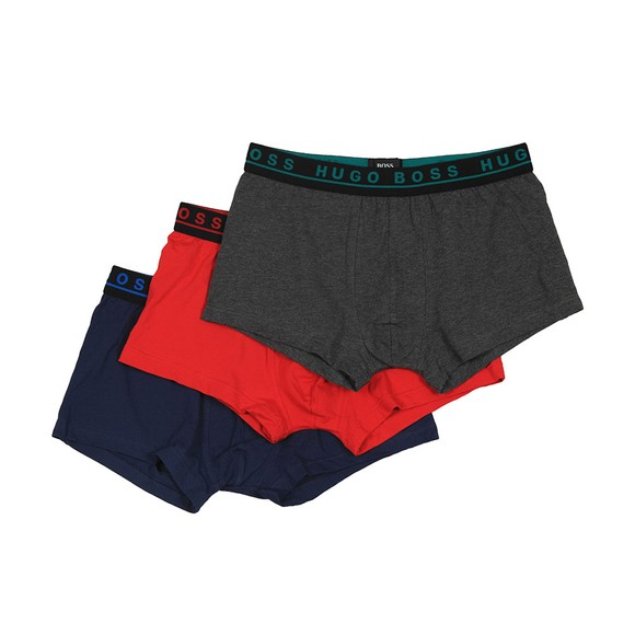 BOSS Bodywear Mens Multicoloured 3 Pack Trunk