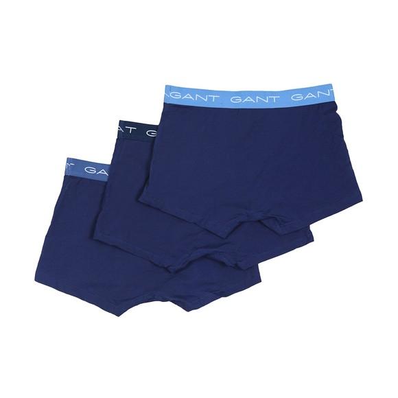 Gant Mens Blue 3 Pack of Trunks main image
