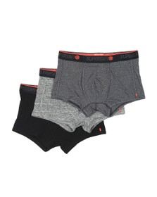 Superdry Mens Multicoloured Sport Trunk Triple Pack