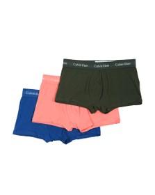 Calvin Klein Mens Multicoloured 3 Low Rise Pack Trunks