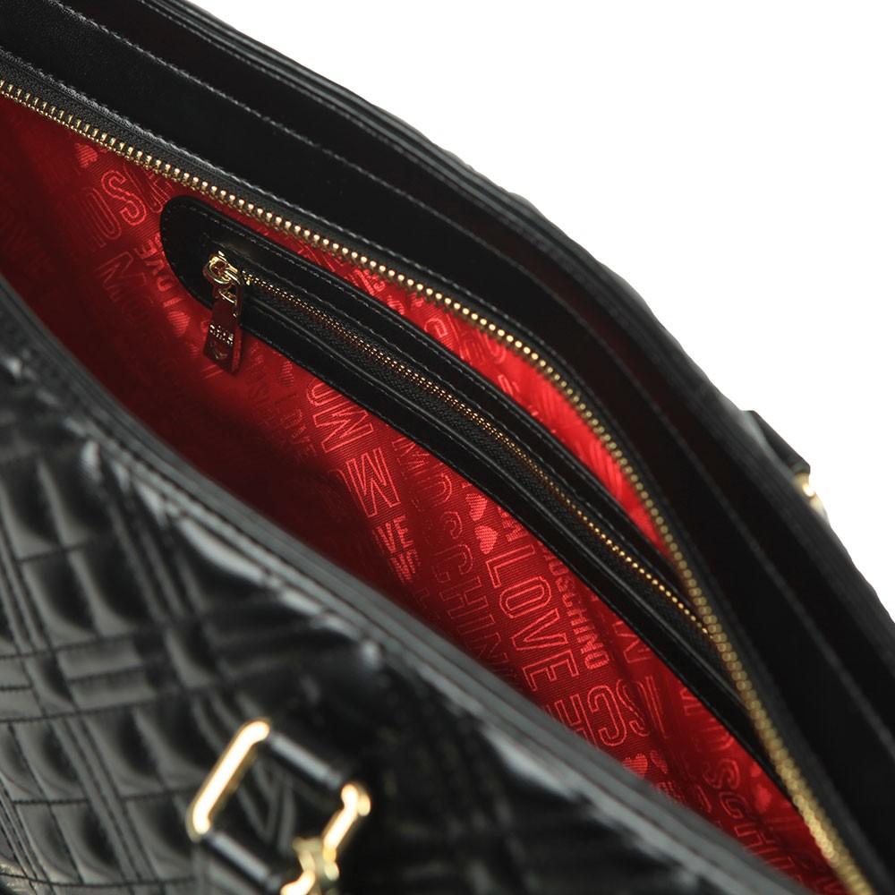 Cross Quilted Shoulder Bag main image