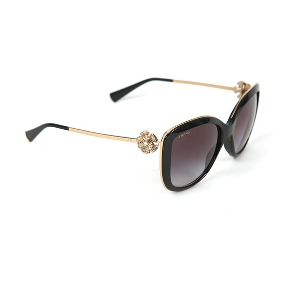 Bvlgari Womens Black BV6094 Sunglasses main image