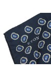 Eton Mens Blue Pocket Square