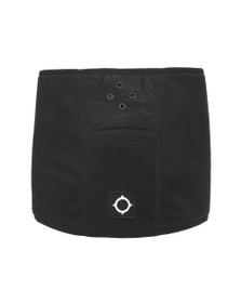 Ma.Strum Mens Black Velo Fleece Neck Gaiter