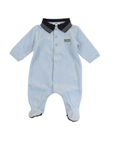 BOSS Baby Boys Blue J97144 All In One